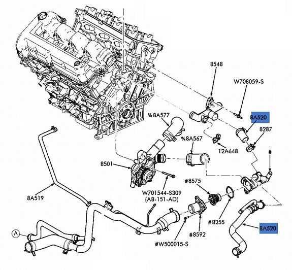 1998 ford f 150 cooling system diagram oc 2415  2003 ford 3 0 v6 engine diagram download diagram  2003 ford 3 0 v6 engine diagram