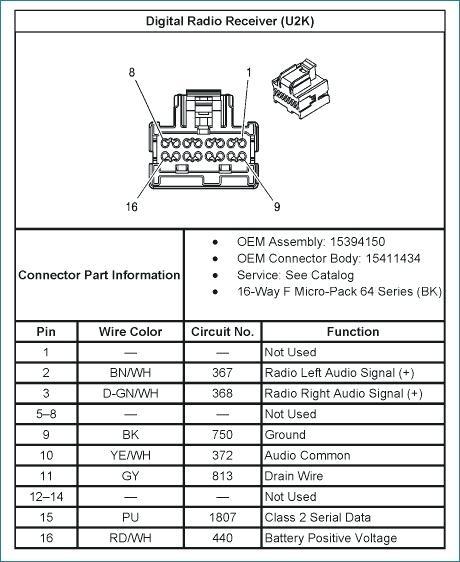 06 Chevy Impala Radio Wiring Diagram - Wiring Diagram