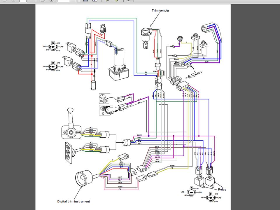 yamaha outboard wiring diagram gauges yamaha tilt trim gauge wiring wiring diagram data  yamaha tilt trim gauge wiring wiring