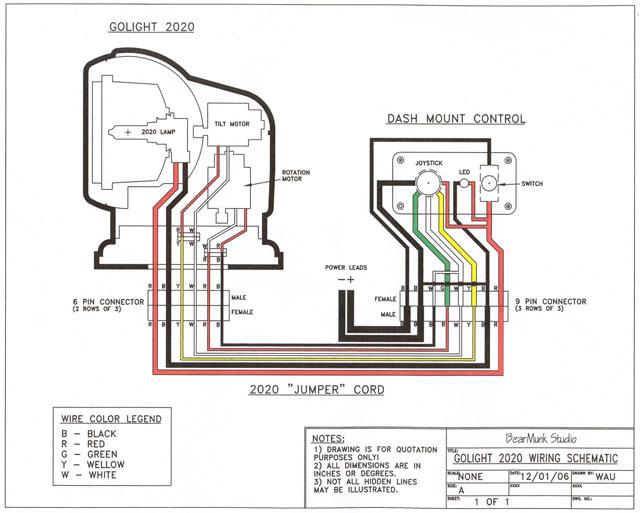 Ho 2456 Spotlight Wiring Diagram For Boat Download Diagram