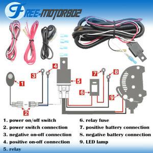 Marvelous Reviews Universal Led Light Bar Fog Light Wiring Harness Kit 40A Wiring Cloud Lukepaidewilluminateatxorg