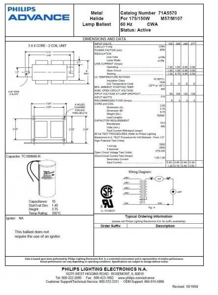 oy1893 metal halide lamp wiring diagram schematic wiring