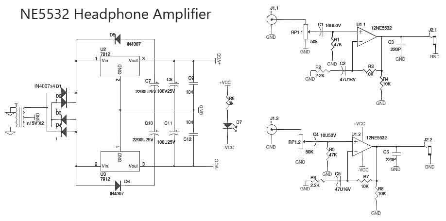 Astounding Preamplifier Circuit Ne5532 Op Amp Ne5532 Preamplifier Circuit Wiring Cloud Lukepaidewilluminateatxorg