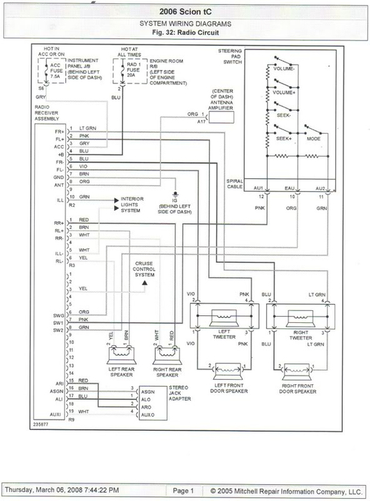 06 Scion Xb Wiring Diagram Toyota Camry Fuse Box 2001 Tomosa35 Jeep Wrangler Waystar Fr