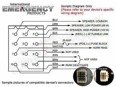 federal pa300 siren wiring diagram  home built wind