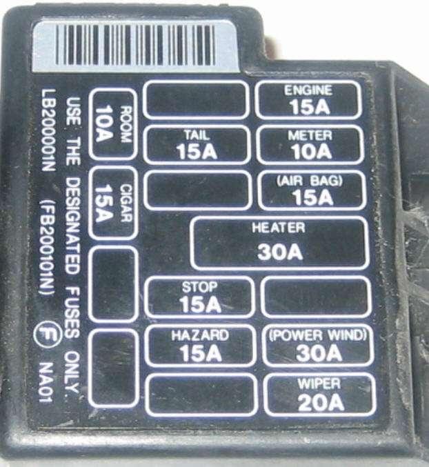 1990 mazda miata fuse box cover   blog wiring diagrams seed  wiring diagram library
