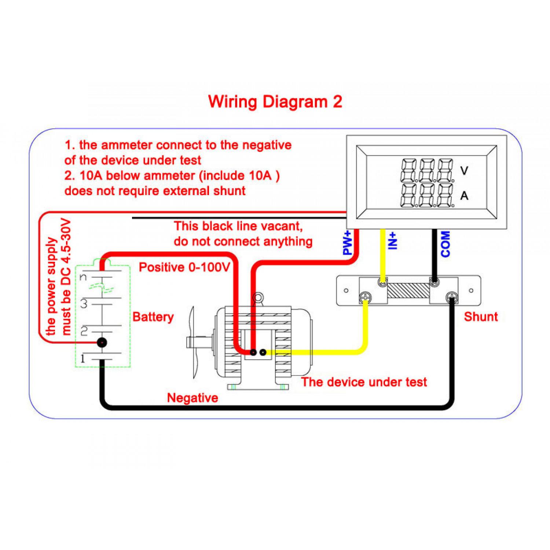 Rx 5872 Dc Ammeter Shunt Wiring Diagram On 100 Amp Volt Meter Wiring Diagram Schematic Wiring