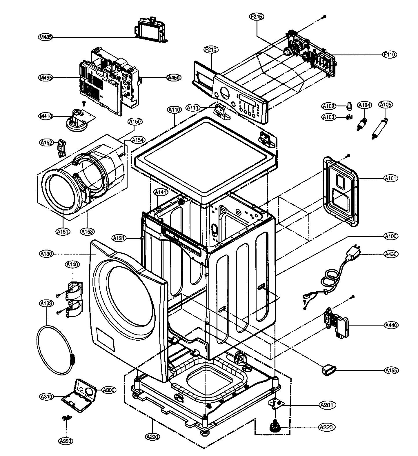 Wiring Diagram Front Load Washing