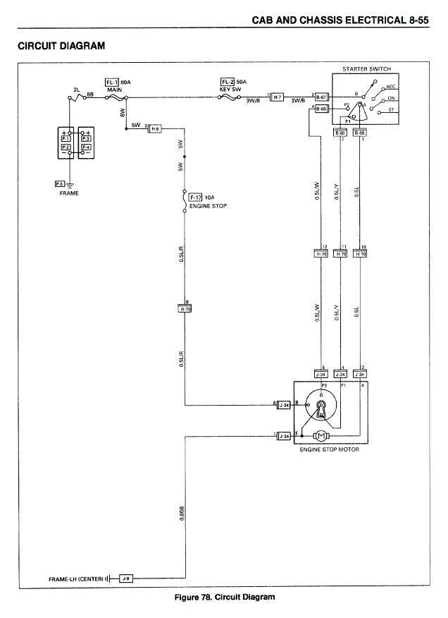 isuzu npr turn signal wiring diagram  1956 ford headlight