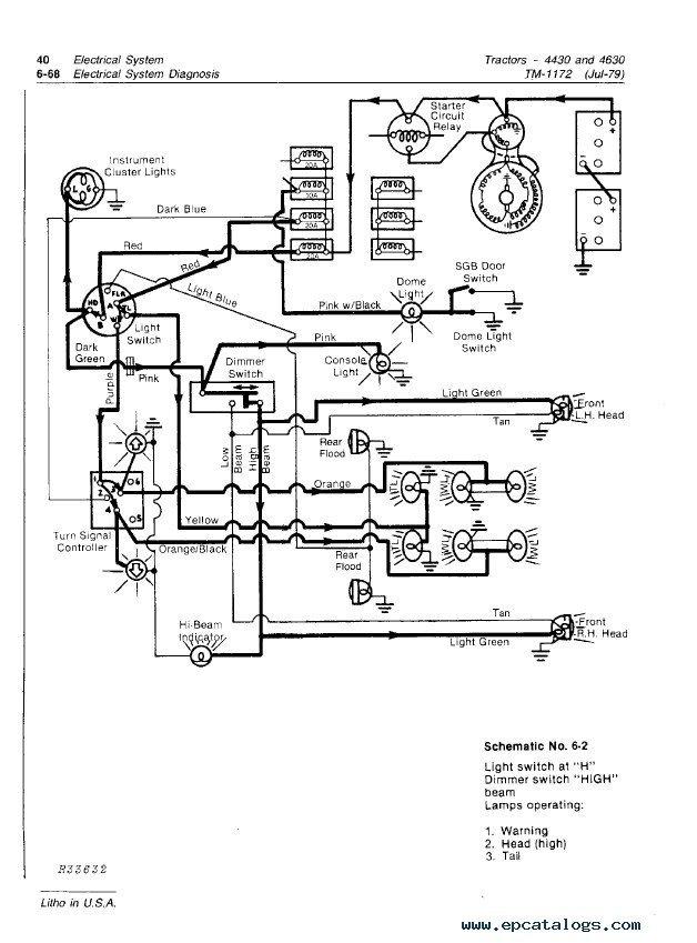 john deere model 68 wiring diagram zc 8155  john deere 4430 wiring diagram free picture schematic wiring  john deere 4430 wiring diagram free