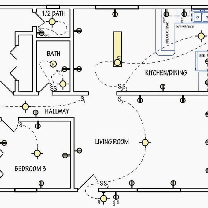 living room wiring diagram rl 9361  wiring a simple house  rl 9361  wiring a simple house