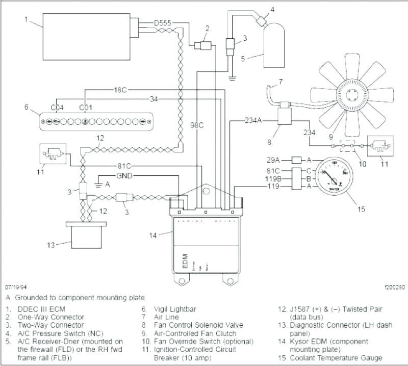 Peterbilt Dash Wiring Diagram - Wiring Diagram