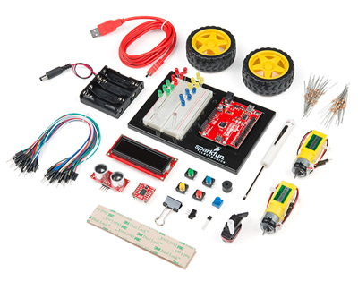 Pleasing Top Electronics Kits For Beginners Sparkfun Electronics Wiring Cloud Hemtegremohammedshrineorg