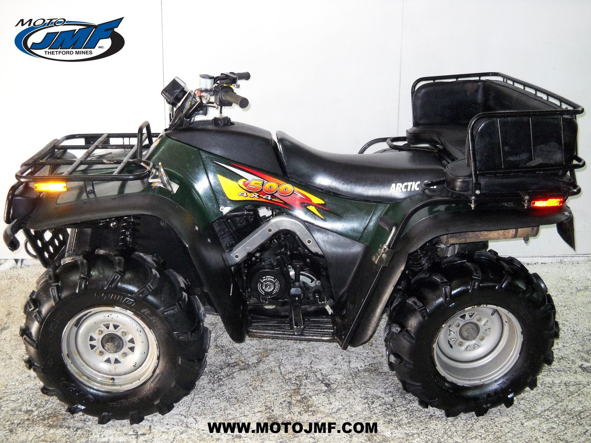 1997 Arctic Cat Bearcat 454 Parts Manual | Reviewmotors.co