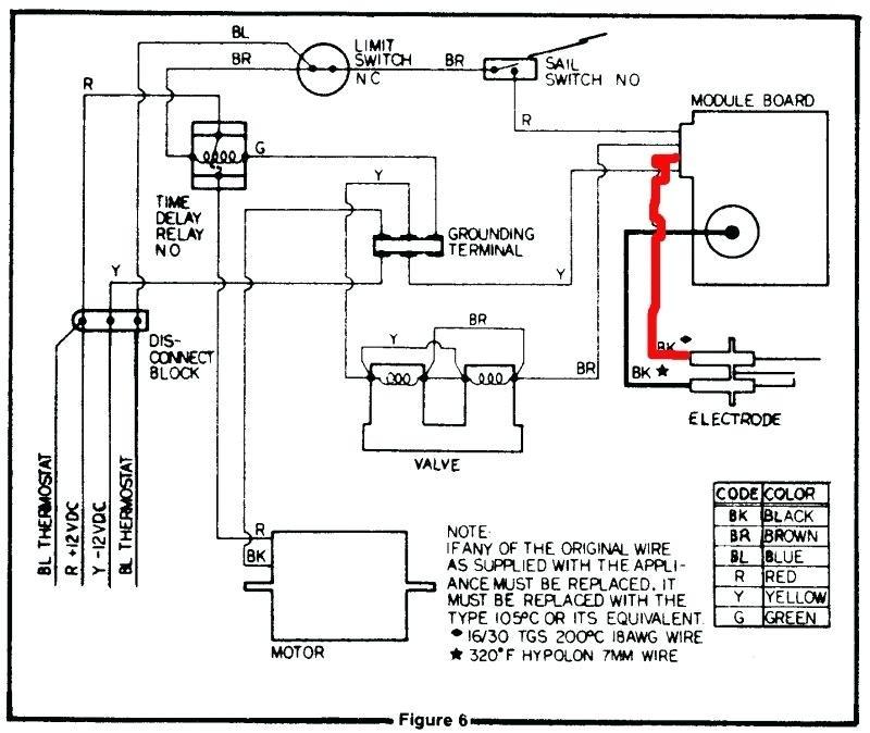 suburban rv furnace wiring diagram with ac sysetem