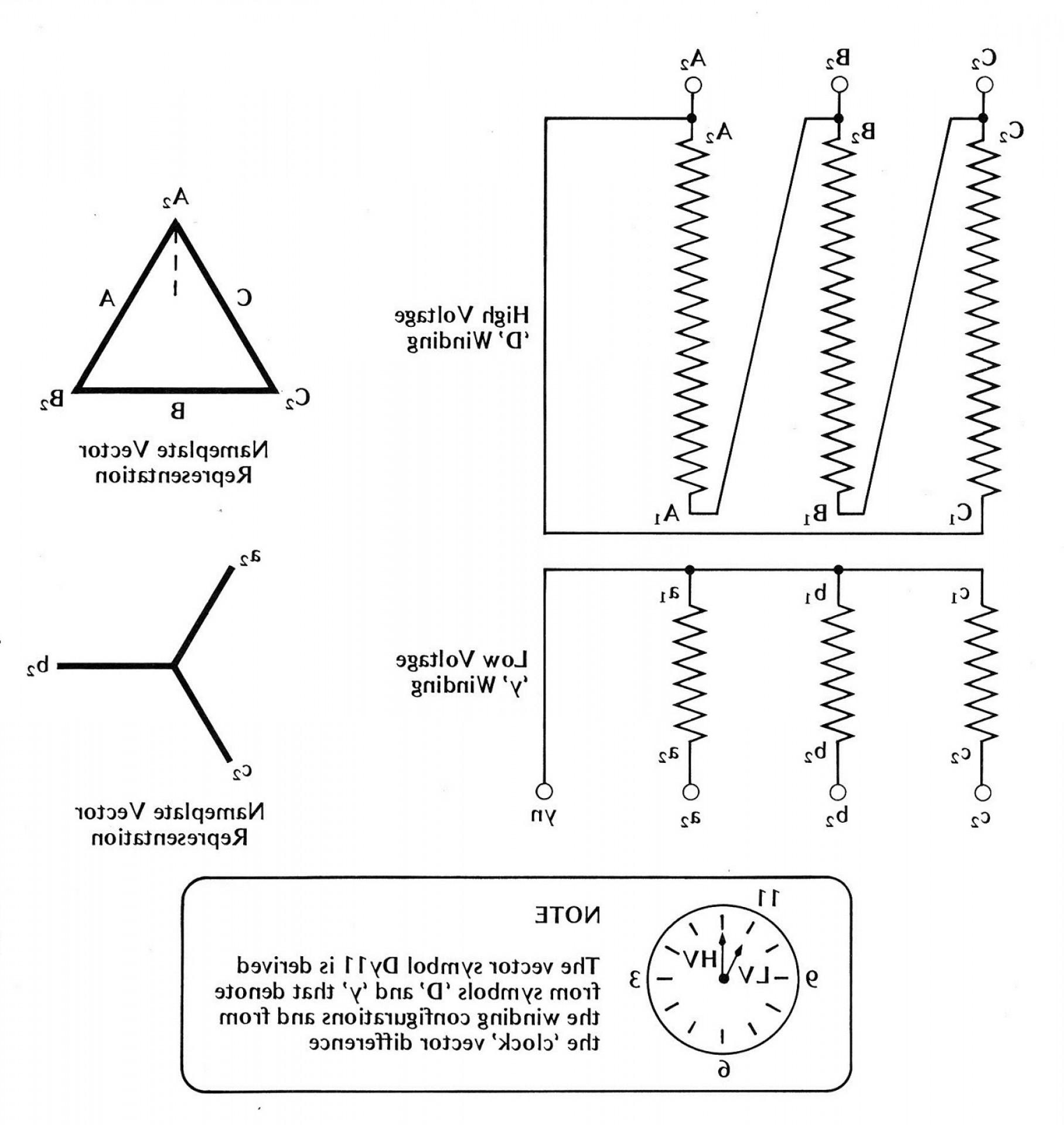 Fantastic Single Phase Transformer Wiring Diagram Symbols For Three Phase Wiring Cloud Waroletkolfr09Org
