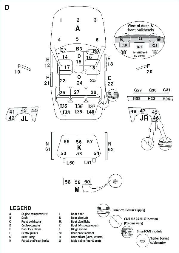 Tv 0511  Audi A6 Fuse Box In Boot Wiring Diagram