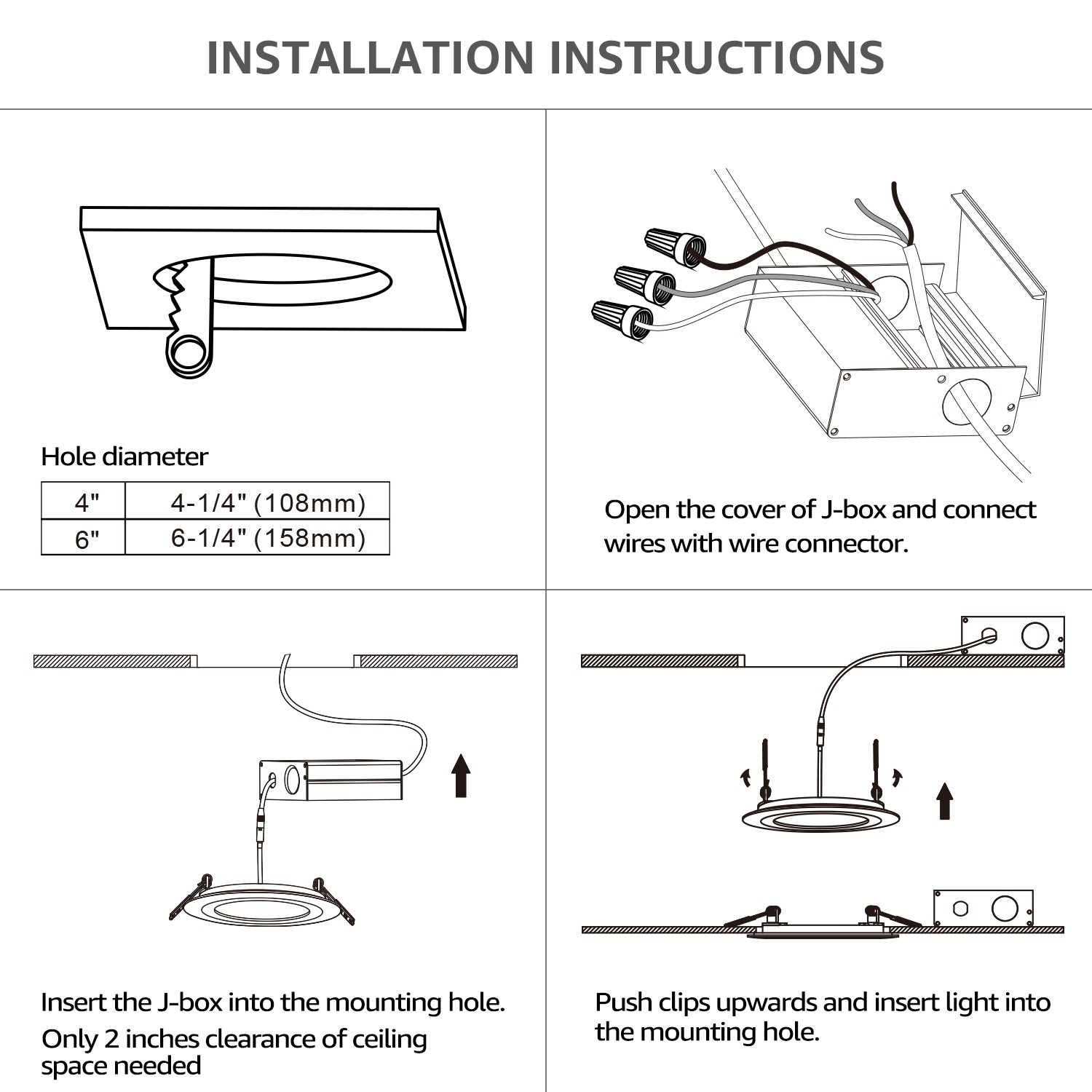 Ms 8147  Downlight Wiring Instructions Free Diagram