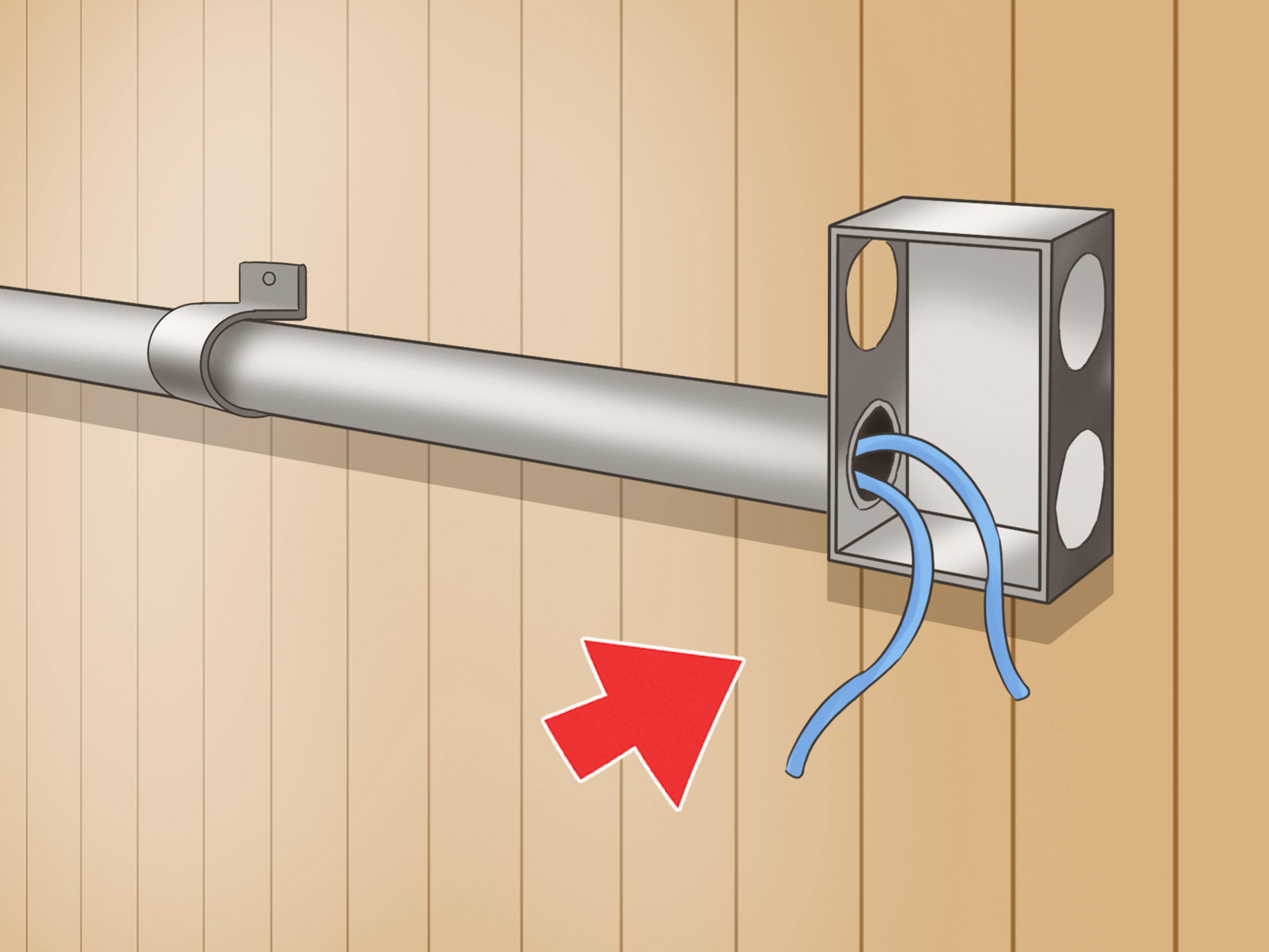 Prime How To Install Electrical Conduits 6 Steps With Pictures Wiring Cloud Domeilariaidewilluminateatxorg