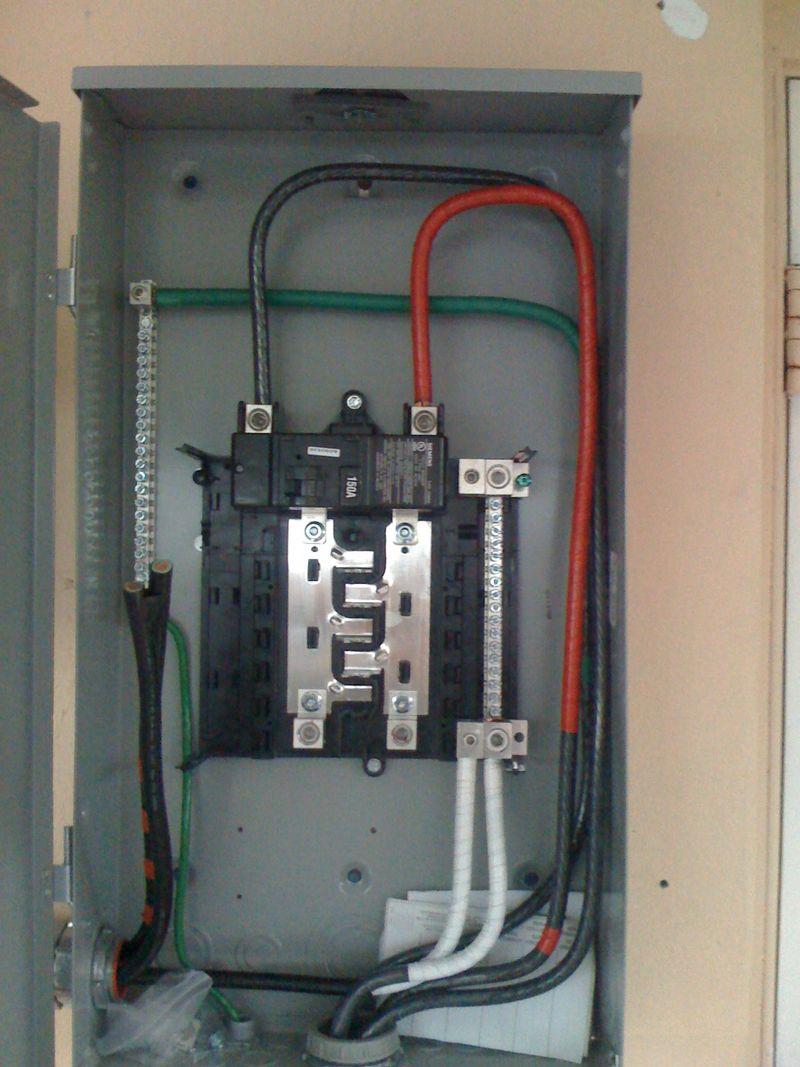 fuse box in garage wf 0974  wiring subpanel in garage  wf 0974  wiring subpanel in garage