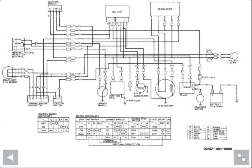 Honda Trx 350 Wiring Diagram - Wiring Diagram