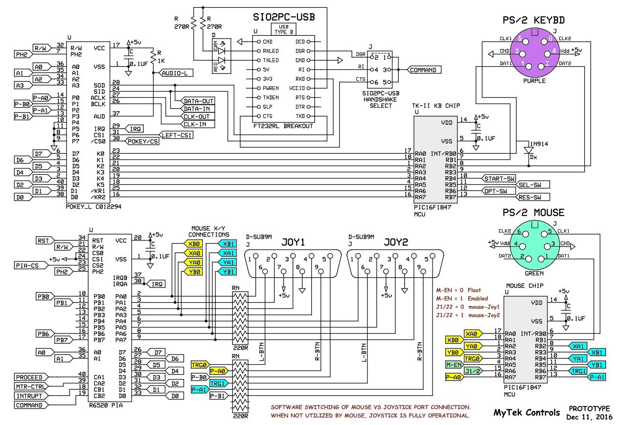 Ps2 Keyboard Wiring Diagram Color  U2013 Wiring Diagram