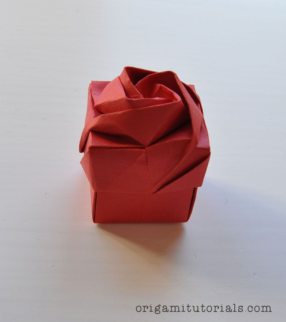 Magic Rose Cube - DIY Origami Tutorial by Nature Folds - 92 - YouTube | 1080x960
