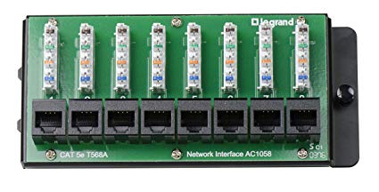 Onq Legrand Ac1000 6port Network Interface Module Youtube