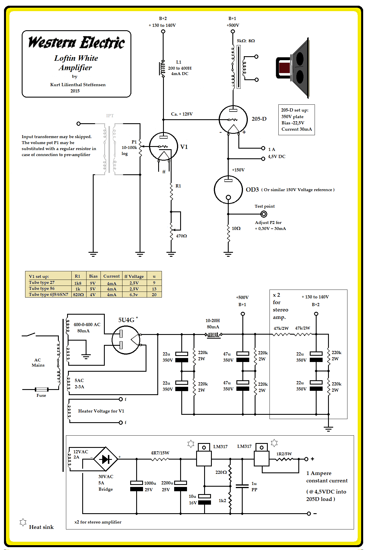 Swell 100 Amplifiers Part 1 1916 45 Lilienthal Engineering Wiring Cloud Waroletkolfr09Org