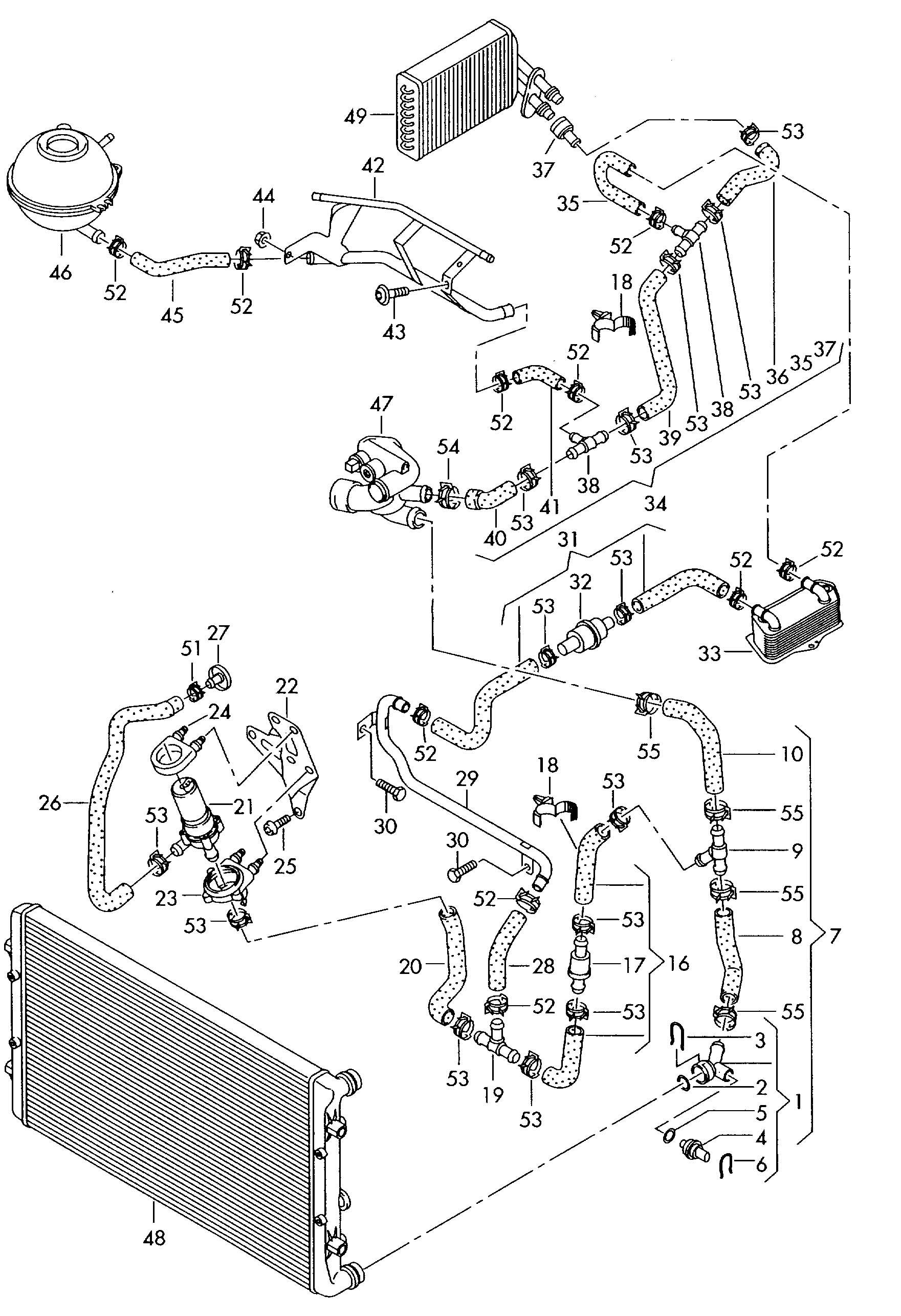 2000 audi a6 engine diagram cooling system dw 2173  audi cooling system diagram  dw 2173  audi cooling system diagram