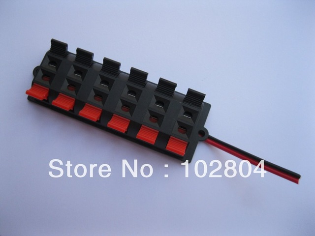 Marvelous 20 Pcs Speaker Terminal Board Connector Spring Loaded 12 Way With Wiring Cloud Monangrecoveryedborg