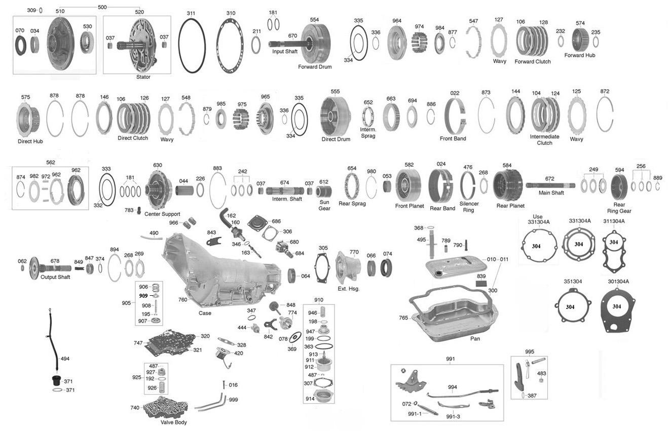 yb_2758] turbo 400 parts diagram free diagram  wigeg nuvit exxlu icism mecad astic ratag ginou gue45 ...