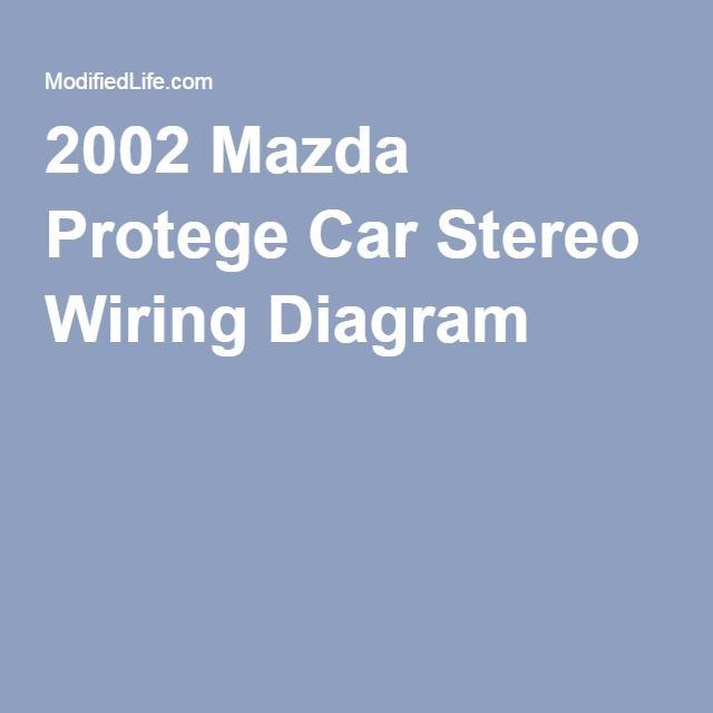Pleasant 2002 Mazda Protege Car Stereo Wiring Diagram 2002 Mazda Protege Wiring Cloud Hemtshollocom