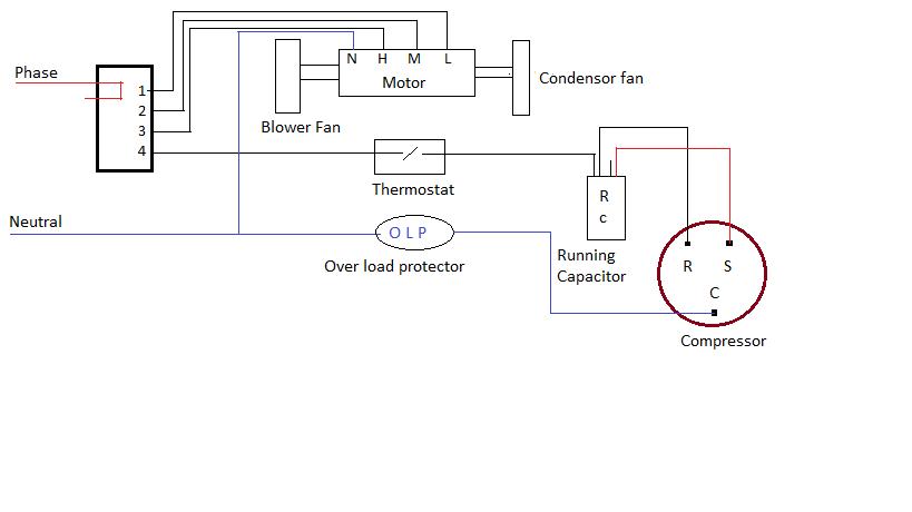 KO_1030] Wiring Diagram Air Conditioner Window Type Schematic WiringHila Caci Phae Mohammedshrine Librar Wiring 101