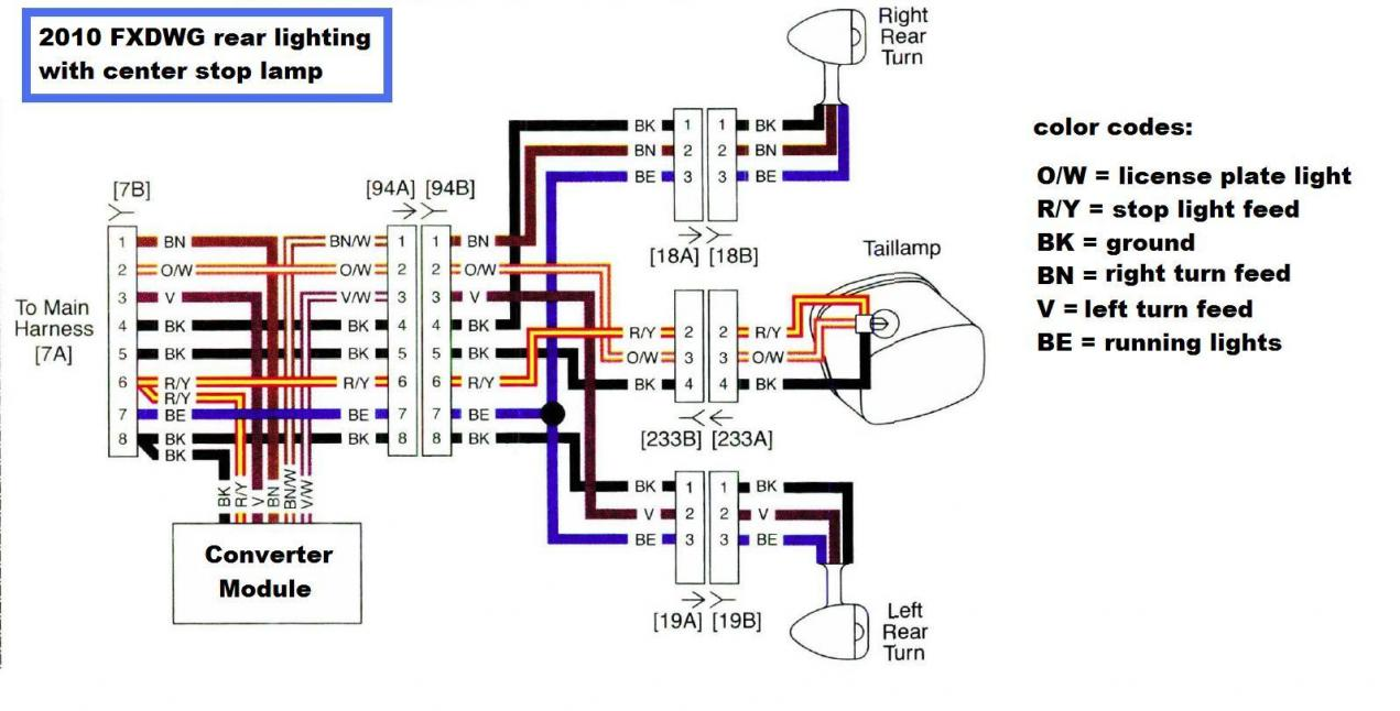 simple turn signal schematic harley softail turn signal wiring diagram rain repeat24  harley softail turn signal wiring