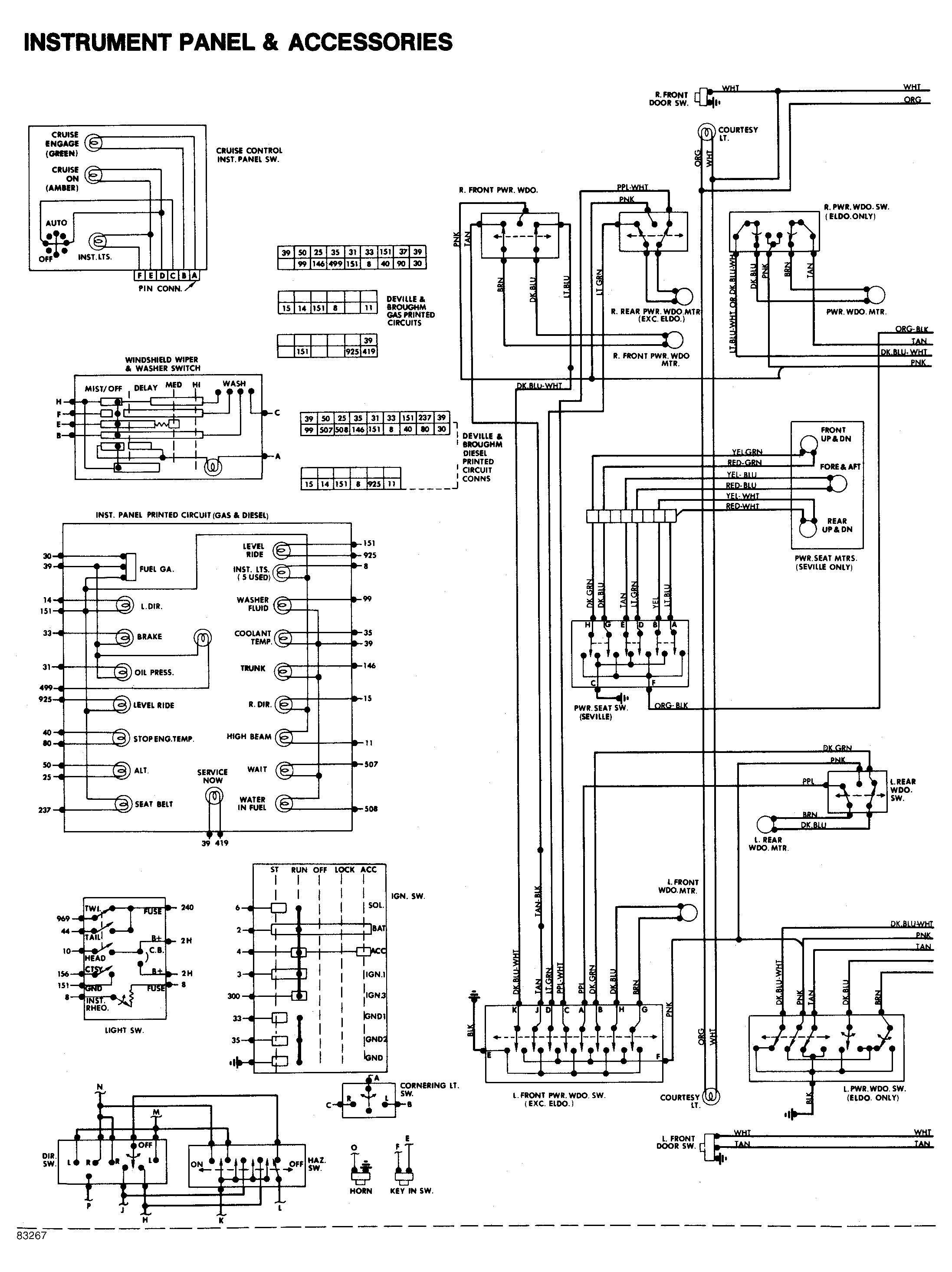 2003 Cadillac Cts Stock Stereo Wiring Diagram