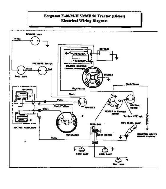 1952 Harry Ferguson Tractor Wiring Diagram Chevrolet Corvette Alternator Wiring Diagram 5pin Diau Tiralarc Bretagne Fr