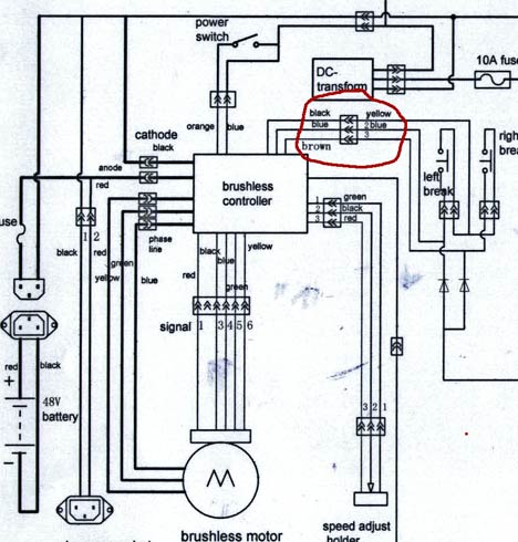 Zf 4354 36 Volt Electric Scooter Controller Wiring Diagram