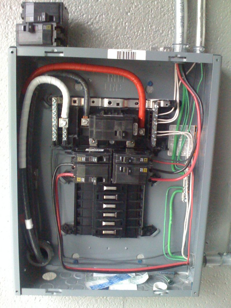 how to wire 100 sub panel diagram wiring rs 3190  100 sub panel to detached garage on garage subpanel  100 sub panel to detached garage on
