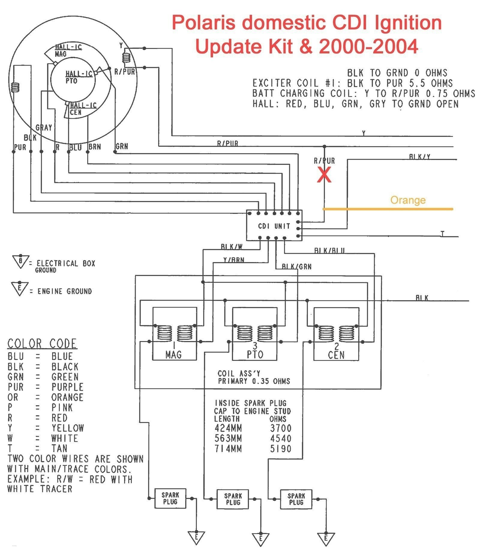 2006 Polaris Predator 90 Wiring Diagram