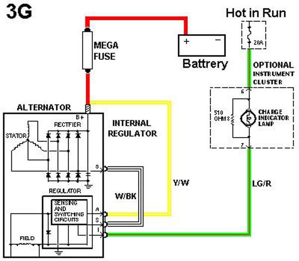 85 mustang alternator wiring diagram xk 5575  alternator wiring diagram on 91 nissan pickup alternator  alternator wiring diagram on 91 nissan