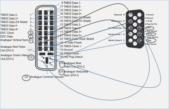 Dvi D Cable Wiring Diagram - Wiring Diagrams DataUssel