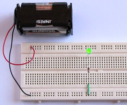 Awesome Tutorial 1 Building A Circuit On Breadboard For Beginners In Wiring Cloud Lukepaidewilluminateatxorg