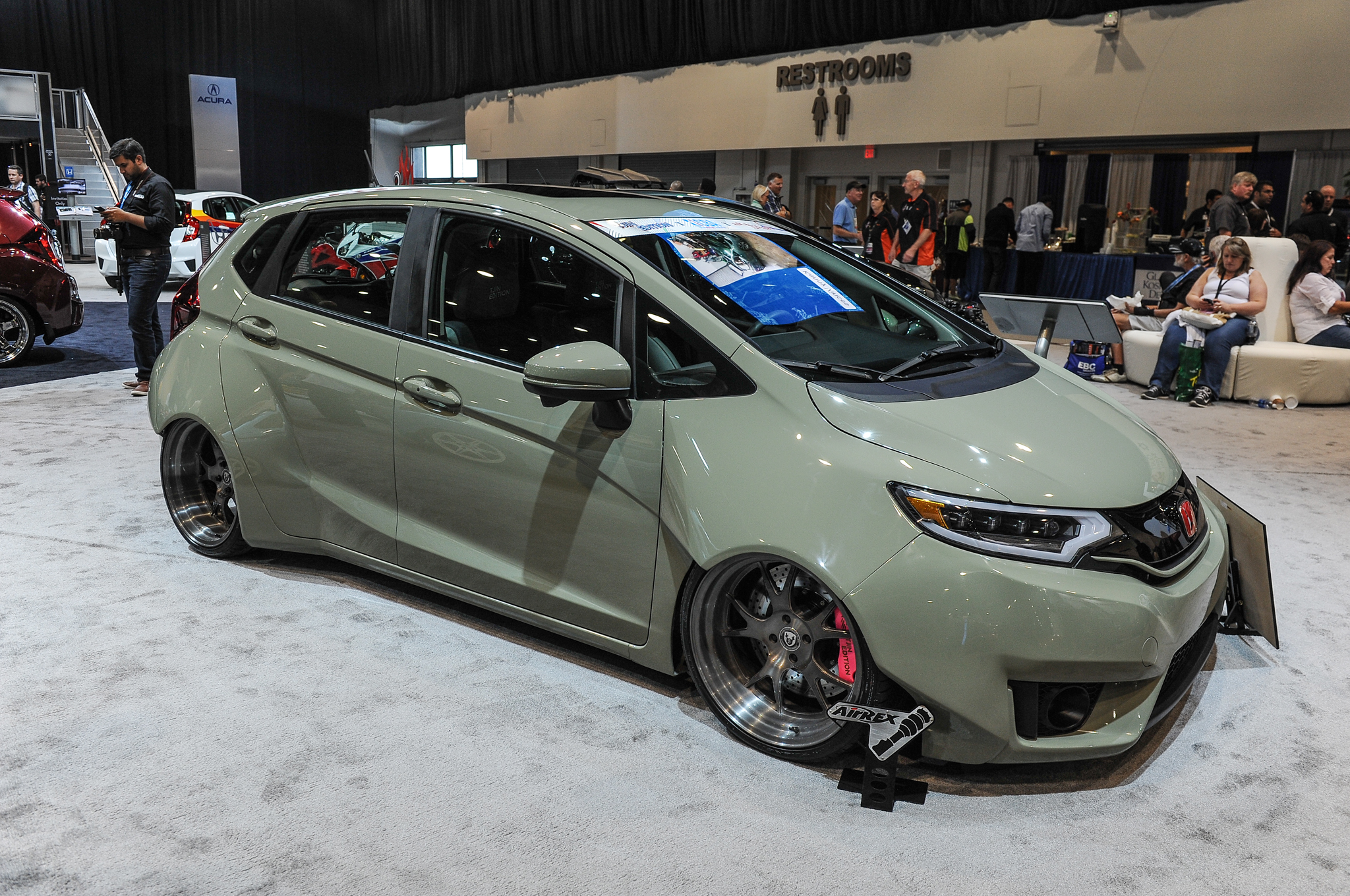 Swell 9 Modified 2015 Honda Fit Hatchbacks Debut At Sema Motortrend Wiring Cloud Grayisramohammedshrineorg