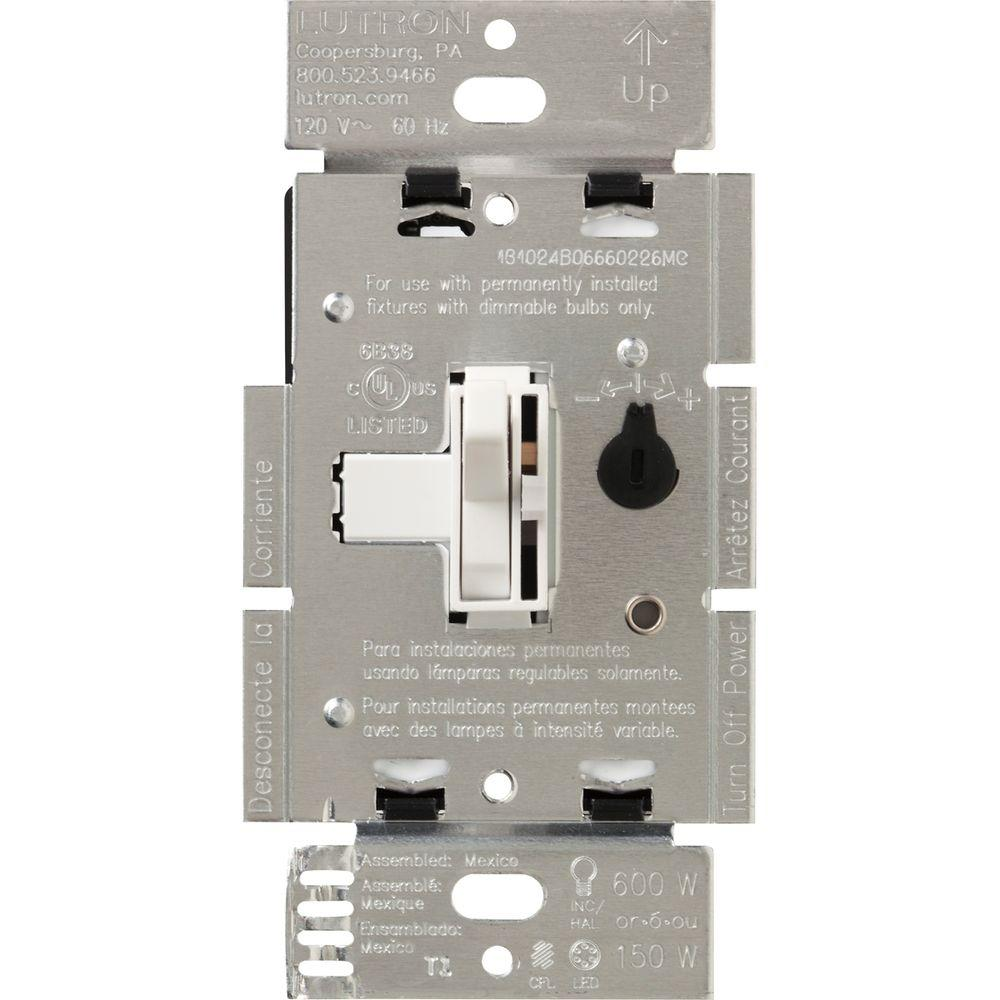 Surprising Lutron Toggler C L Dimmer Switch For Dimmable Led Halogen And Wiring Cloud Ostrrenstrafr09Org