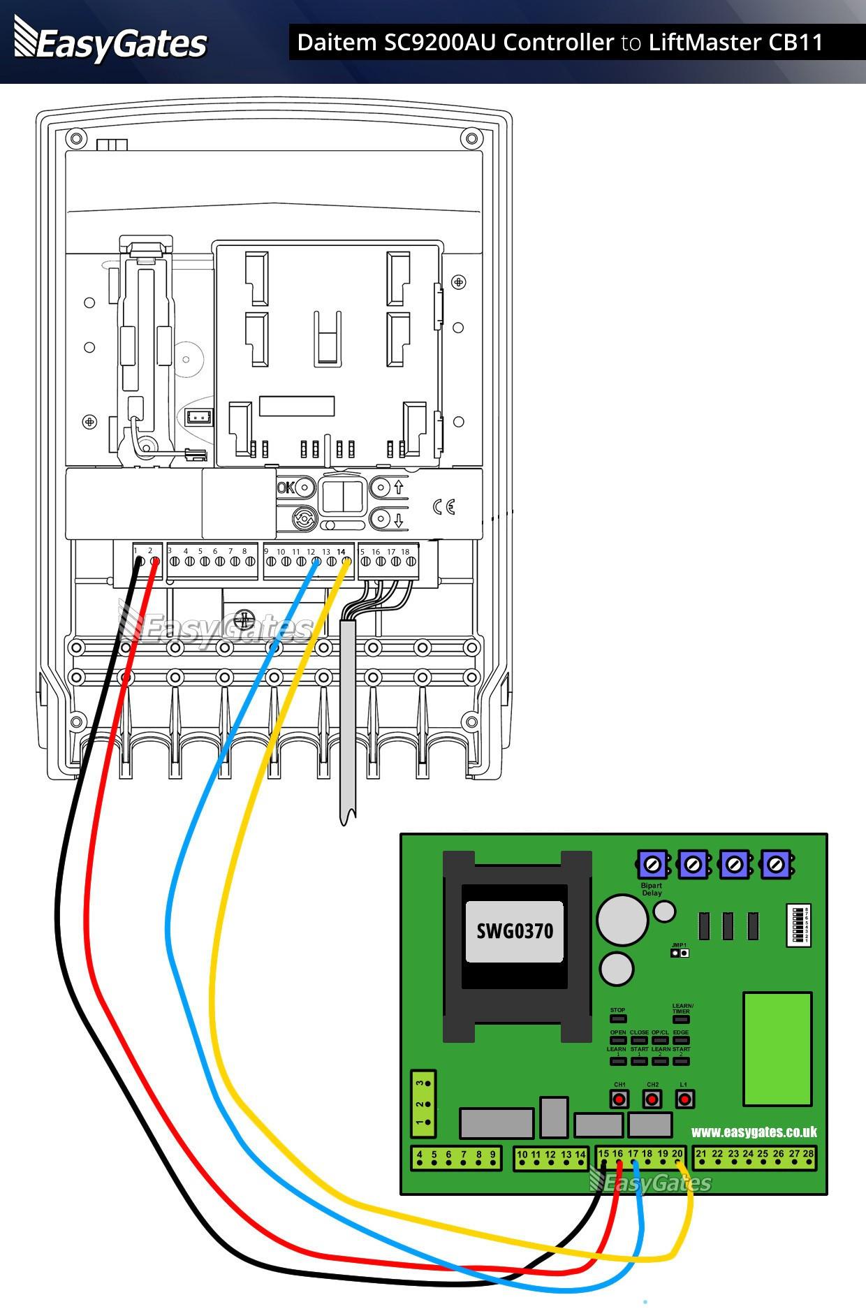 YM 40] Craftsman 40 Hp Garage Door Opener Wiring Diagram Wiring ...