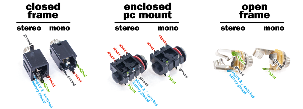 Mono Audio Jack Wiring Diagram