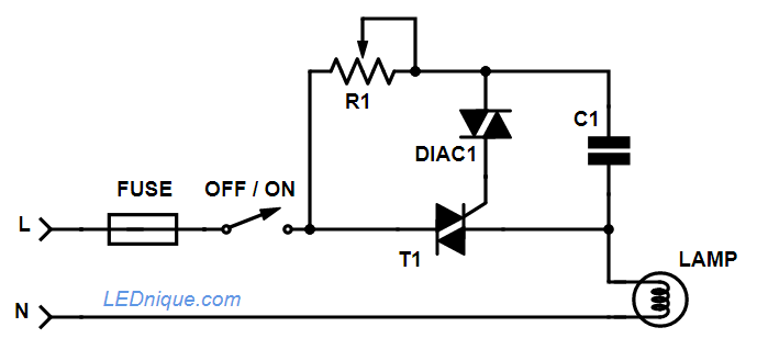 Outstanding 110V 230V Light Dimmer Circuit Without Snapon Basic Electronics Wiring Cloud Itislusmarecoveryedborg