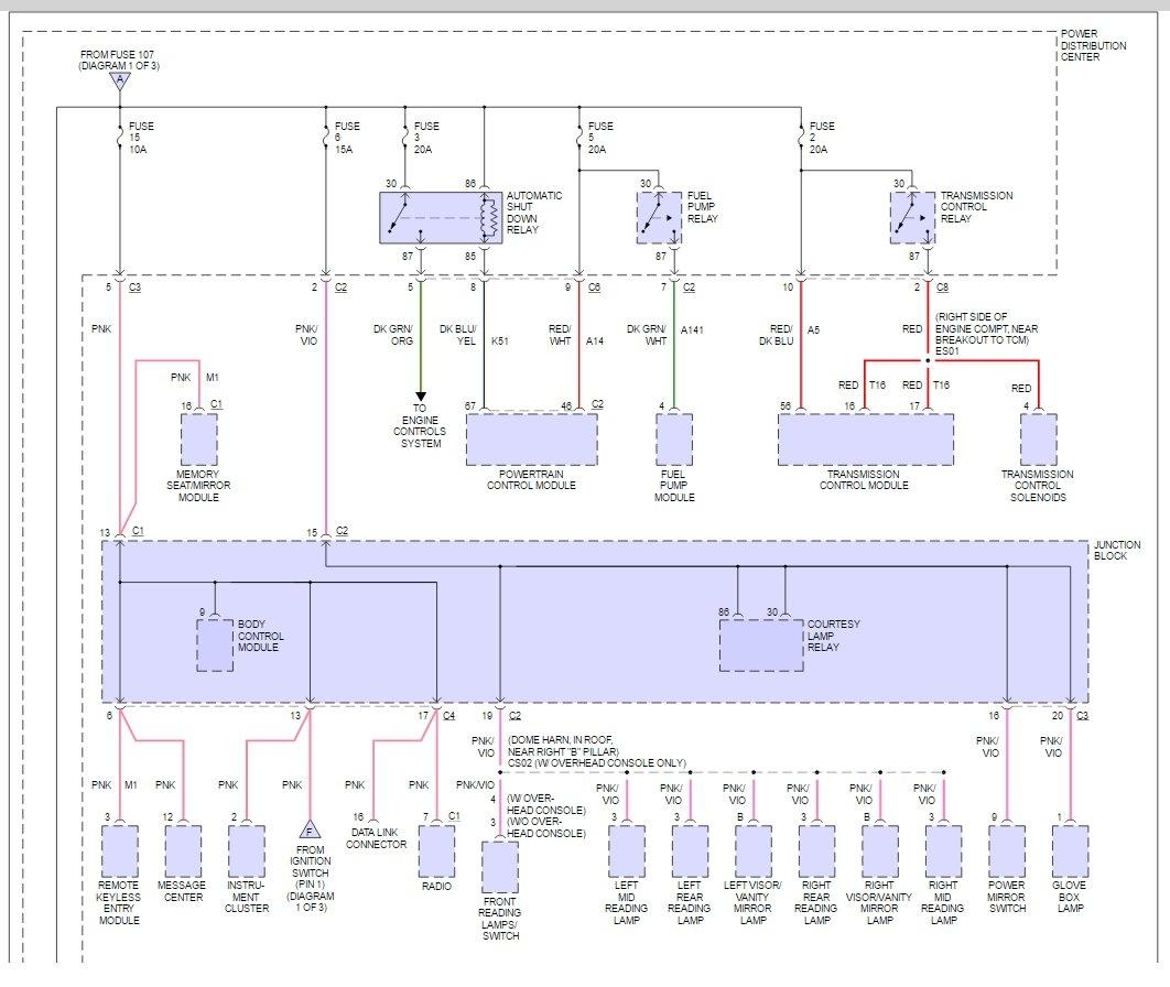 2000 Grand Caravan Wiring Diagram
