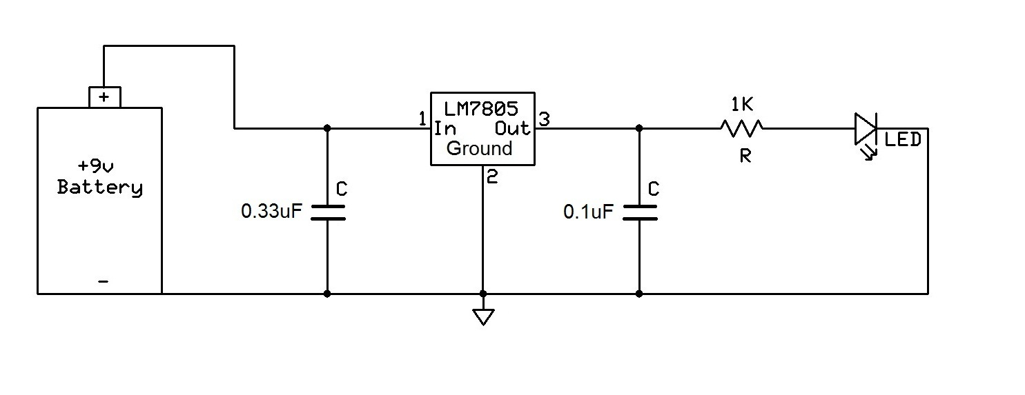 Superb How To Connect A Voltage Regulator In A Circuit Wiring Cloud Lukepaidewilluminateatxorg